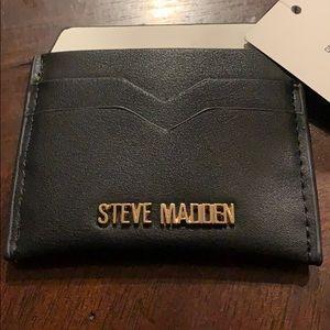 Steve Madden  Black and white Card Holder